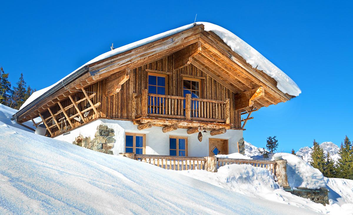 Chalets und skih tten an der piste for Design hotels skiurlaub