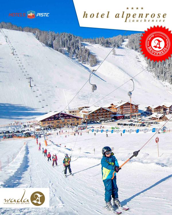 Hotel Alpenrose - Skiurlaub Ski-Hotel Piste Zauchensee Salzburger Land
